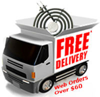 Free Delivery For Web Orders Over $60.