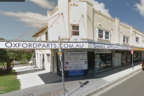Oxford Appliance Parts at 219 Bondi Rd.