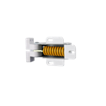 Picture of HINGE ASSY-WHITE-YELLOW SPRING *** USE UP, THEN NL.