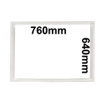 Picture of GASKET-DOOR-FZR 760 X 640 *Reduced to Clear.