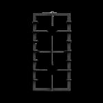 Picture of TRIVET CAST 60/90 RUBY SC GLAS