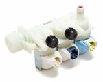 Picture of WASHING MACHINE INLET VALVE 3 WAYS - INDESIT 11033