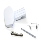 Picture of WASHING MACHINE WHITE DOOR HANDLE - ARISTON 116576