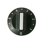 Picture of BLACK OVEN KNOB - EGO 524.066