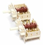 Picture of DOUBLE OVEN ROTARY SWITCH - GORENJE 617773-5HE568