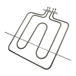 Picture of OVEN HEATING ELEMENT 1500W+750W REPLACES ARISTON C00052297 452mmX356mm