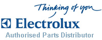Electrolux Authorised Parts Distributor. Buy with confidence.