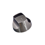Picture of KNOB D/CAST 55MM BBQ BR/NICL