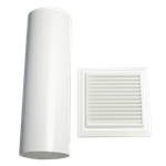 Picture of KIT-125MM WALL VENT W/FLUE