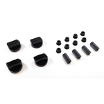 Picture of BLACK OVEN KNOB WITH REDUCTIONS KIT 4pcs - UNIVERS